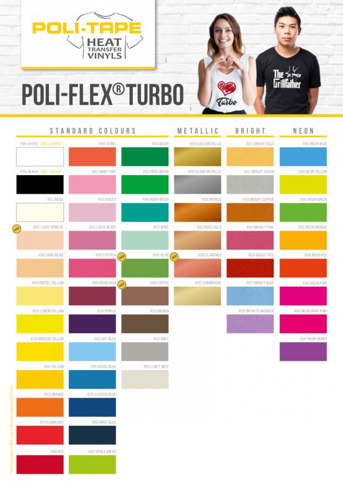 Poli-Flex Turbo Flexfolie
