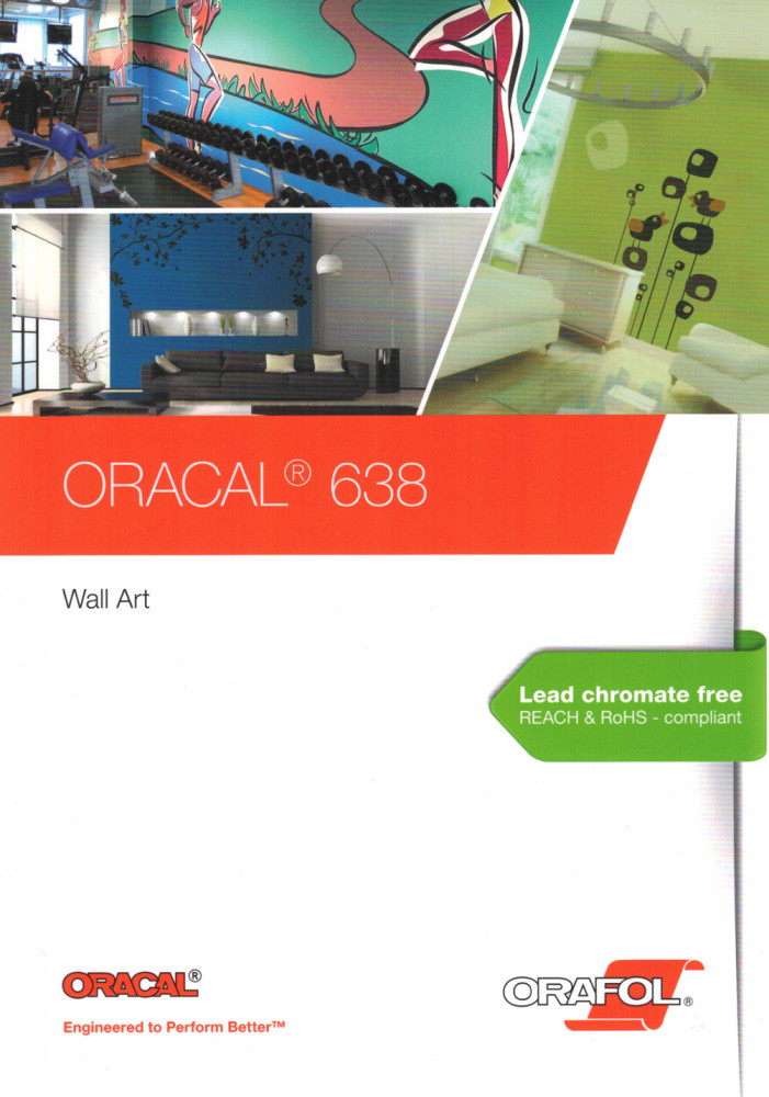 Farbkarte Oracal 638
