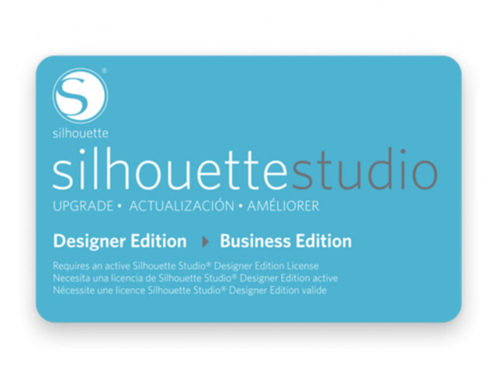 Silhouette Studio Upgrade von Designer auf Business